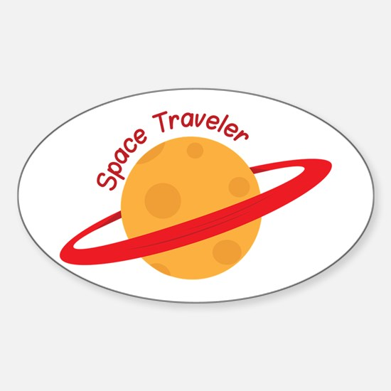 Space Traveler Decal
