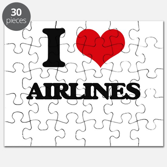 I Love Airlines Puzzle
