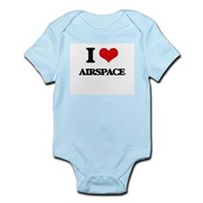 I Love Airspace Body Suit