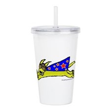 SuperDoggie copy.png Acrylic Double-wall Tumbler