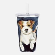 JRTwatercolor.png Acrylic Double-wall Tumbler