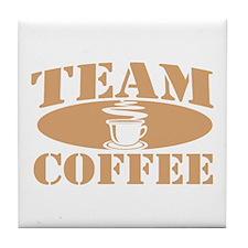 Team Coffee Tile Coaster