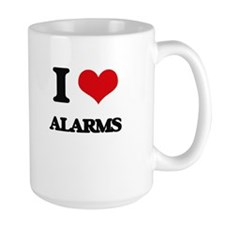 I Love Alarms Mugs
