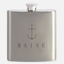 Maine Sailing Anchor Flask