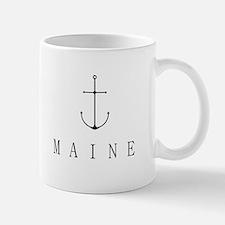 Maine Sailing Anchor Mugs