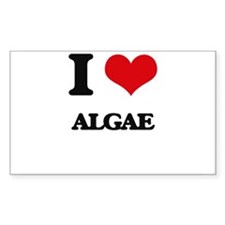 I Love Algae Decal
