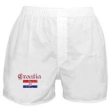Croatian Flag Boxer Shorts