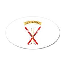 Ski Patrol Wall Decal