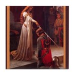 Edmund_blair_leighton_accolade2.png Tile Coaster