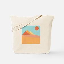 Pyramid Scene Tote Bag