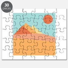 Pyramid Scene Puzzle