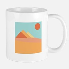 Pyramid Scene Mugs