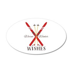 Warm Winter Wishes Wall Decal