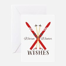 Warm Winter Wishes Greeting Cards