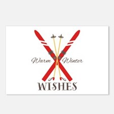 Warm Winter Wishes Postcards (Package of 8)