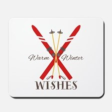 Warm Winter Wishes Mousepad
