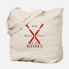 Warm Winter Wishes Tote Bag