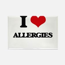 I Love Allergies Magnets