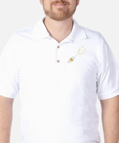 Special Champagne Golf Shirt