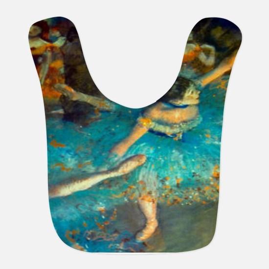Degas Blue Dancer Bib