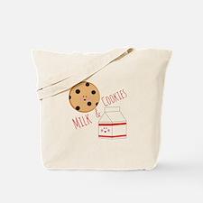Milk Cookies Tote Bag