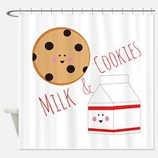 Milk Cookies Shower Curtain