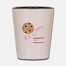 Milk Cookies Shot Glass