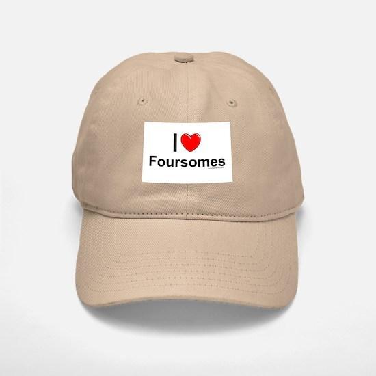 Foursomes Baseball Baseball Cap