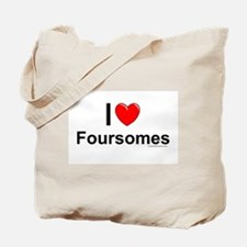 Foursomes Tote Bag