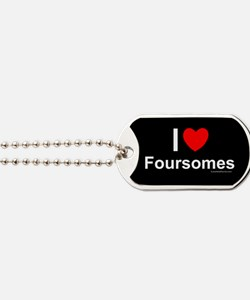 Foursomes Dog Tags