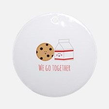 Go Together Ornament (Round)