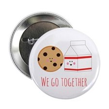"""Go Together 2.25"""" Button (10 pack)"""