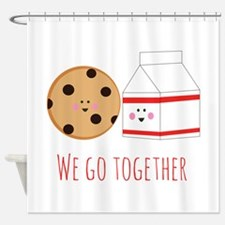 Go Together Shower Curtain