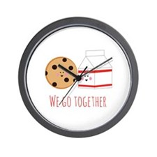 Go Together Wall Clock