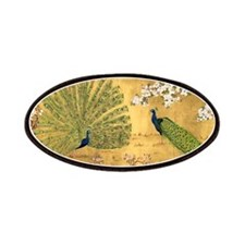 Peacock Paradise Patches