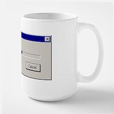 Give a Damn Large Mug