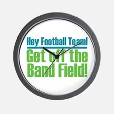 Marching Band Field Wall Clock