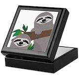 Sloth Keepsake Boxes