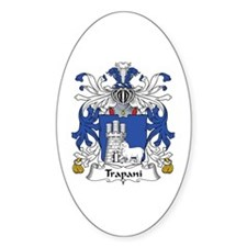 Trapani Oval Decal
