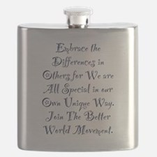 Embrace the Differences Flask