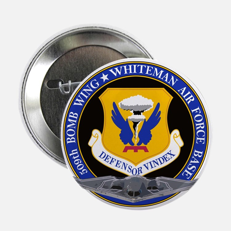 """509th_whitman_air_base.png 2.25"""" Button (10 pack)"""