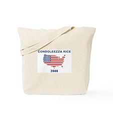 CONDOLEEZZA RICE 2008 (US Fla Tote Bag