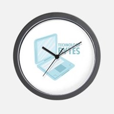 Technology Bytes Wall Clock