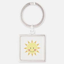 Happy Sun Keychains