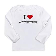I Love Anesthetists Long Sleeve T-Shirt