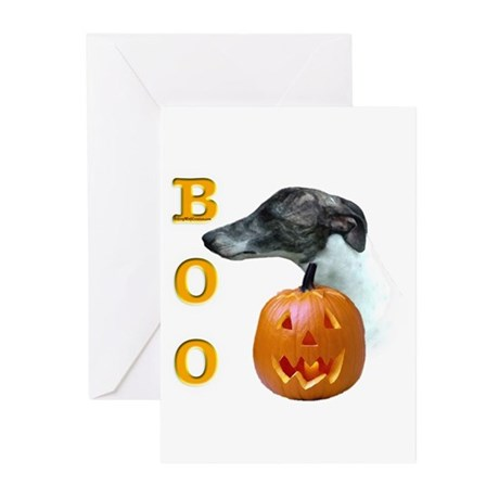 Whippet Boo Greeting Cards (Pk of 10)