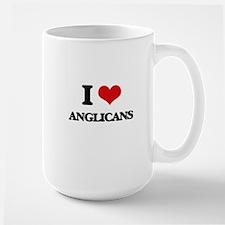 I Love Anglicans Mugs