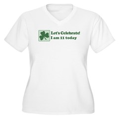 Lets Celebrate I am 11 T-Shirt