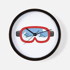 Ski Mask Wall Clock