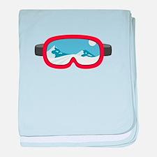 Ski Mask baby blanket